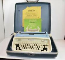 VTG Royal Telstar Portable manual Typewriter w/Case, manual works great clean