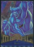 1995 Marvel Metal Trading Card #85 Beast