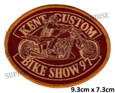 HELLS ANGELS KENT CUSTOM BIKE SHOW 1997 Patch HIGHLY COLLECTABLE RARE KBCS