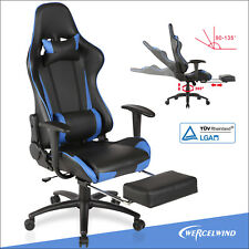 UEnjoy Racer-X Gaming Stuhl Racing Bürostuhl Schreibtischstuhl Schwarz/ Blau