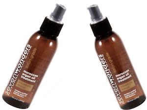 2 x 125ml SEVEN WONDERS Morrocan Argan Treatment Oil ( Total 250ml )