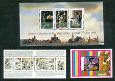 Nederland blok 1667 + 1671 + 1677 postfris