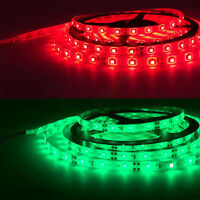 5M Led Strip 3528 SMD RGB 300 Light IR Remote Power Waterproof Flexible Color