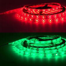 5M Led Strip 3528 SMD RGB 300 Light IR Remote Power Waterproof Flexible Color