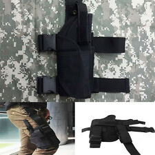 Adjustable Tactical Army Military Pistol Gun Drop Leg Thigh Holster Pouch Holder