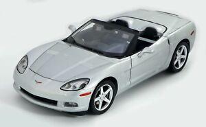 Hot Wheels Corvette C6 Limited Edition 1/2500 #G2567 NIB 2004 Gray 1:12 Scale
