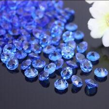 1000pcs x 4.5 mm blu wedding Tavolo Spargere Acrilico Cristalli Decorazione Diamante