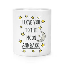I LOVE YOU to the Moon E Indietro trucco pennello matita Pot-Giorno S. Valentino