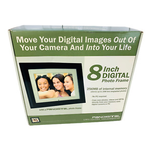 8 in Digital Photo Frame by Pandigital. 256 MB internal memory. Open Box.