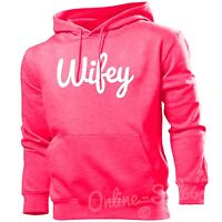 Wifey Womens Funny Hipster Hoodie Wedding Wife Hen Do Hoody Top