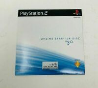 Online Start-Up Disc v 3.0 - Sony PS2 PlayStation 2