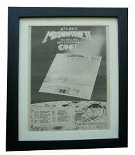 More details for camel+moonmadness+tour+poster+ad+rare original 1976+framed+express world ship