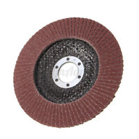 10X 5'' Flap Discs 125MM Sanding Disc Grit 40 60 80 120 Angle Grinder Wheels