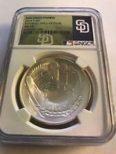 2014 Baseball HOF HALL FAME Proof Silver $1  NGC MS70 San Diego Padres