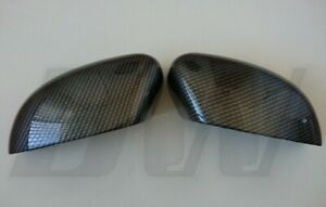 CARBON FIBRE EFFECT MIRROR COVERS for FORD FOCUS 08-17 INC ST RS & MONDEO 10-14