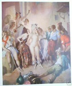 1973 WATERCOLOURS, NORMAN LINDSAY w 15 FULL PAGE COLOUR PLATES, free EXPRESS ww