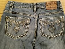 CG Cowgirl Up Jeans, Women's Sz 2, 26x34, Embellished Pockets