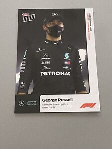 2020 Topps Now F1 George Russell Rookie Cards Mercedes F1 PSA BGS SGC Ready 🔥🏁