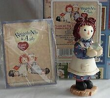 Nib Raggedy Ann & Andy Look On The Bright Side Of Life Retired New