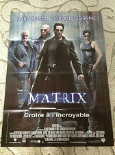 The Matrix Huge French Movie Poster 46 X 62 New Keanu Reeves Laurence Fishburne