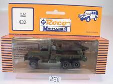 Roco Minitanks 1/87 No. 432 Truck Kran M62 LKW US-Army Militär OVP #256