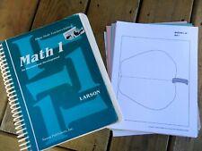 Saxon Math 1 Home Study Teacher's Edition & Flashcards Set