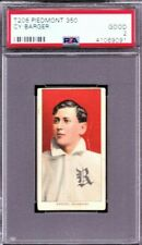 1909 T206 CY BARGER ML,  ROCHESTER MINOR LEAGUES, PSA 2-  UNDREGRADED