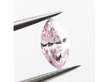 Pink Diamond - 0.35ct Natural Loose Fancy Pink SI2 GIA Certified Marquise Color