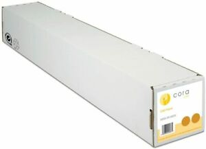 """CORA CAD PAPER WIDE FORMAT 90GSM 42"""" x 50M 4rolls for HP Epson Canon printer."""