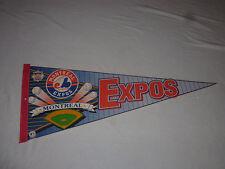 "MONTREAL EXPOS BASEBALL 29 1/2"" WINCRAFT PENNANT BANNER FLAG MLB"