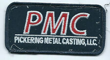 PMC Pickering Metal Casting LLC OK patch 2 X 3-7/8 #1447