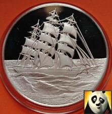 Les britanniques l'histoire maritime le cutty sark ship silver proof medal coin