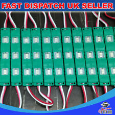 Green 200pcs x 3 LED Chip 5730 SMD Module Injecton Mould Waterproof DC12V 0.72W