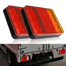 8LED Trailer RV Truck Caravans Boat Stop Brake Rear Tail Turn Indicator Light