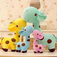 Soft Cute Giraffe Dear Plush Toy Little Baby Stuffed Animal Doll Kawaii Gift