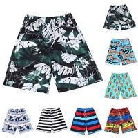Mens Beach Board Shorts Quick Dry Surf Swimming Trunks Summer Holiday Swimwear
