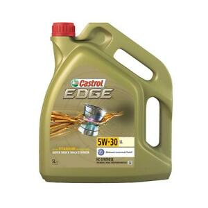 Castrol Edge 5W-30 LL Longlife III Motoröl mit Fluid-Titanium, 5 Liter