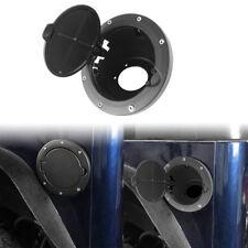 Matte Black Aluminium ABS Gas Tank Fuel Cap Cover For Jeep Wrangler TJ 1997-2006