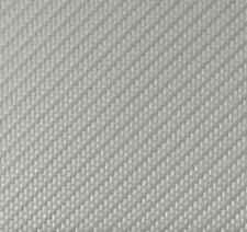 "Silver Embossed Carbon Fiber Upholstery Auto Fabric 58"" Wide Sold By The Yard"