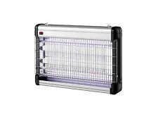 Zanzariera Elettrica Anti Zanzare Insetti ELETTROINSETTICIDA ZANZAP 2X10W E309