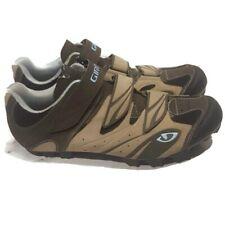 Giro Reva Women's  Cycling Shoes Size 10.5 Khaki/Brown