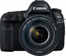 Canon EOS 5D Mark IV 30.4MP Digital SLR Camera with EF 24-105mm f/4L IS II Lens - Black