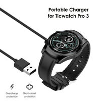 Charger for Ticwatch Pro 3/Ticwatch Pro 3 LTE Smart Watch USB Charging Cable