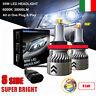 8 Lati 110W 30000LM H8 H9 H11 Auto Canbus LED Fari Lampade Luci Kit Bianco 6000K