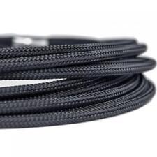 Shakmods 4mm Dense Weave Round Cable Braid : Matte Black