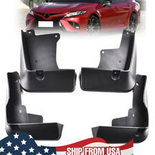 Mudguards Mud Flaps Molded Fender Guards For Toyota Camry 2018 2019 SE XSE Black