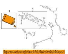 HONDA OEM 16-17 Civic GPS Navigation System-Display System Unit 39710TBA305