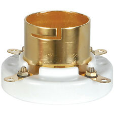 2pcs 1 pair Gold Plated Tube Sockets for 845  211, 805 western electric VT4C