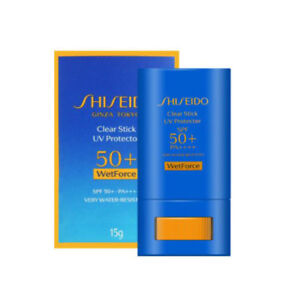 Shiseido Wetforce Clear Stick UV Protector Sunscreen SPF50+/PA++++ 15g