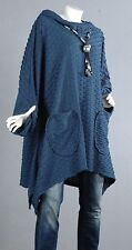 60 Kaschierwunder Pullover Tunika Longpullover Top Bluse Shirt Wolle  52 54  1